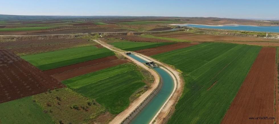 2018 Yılı Sulama Sezonunun İlk Suyu Bırakıldı