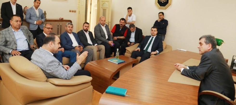 AK Başkanlardan eskimeyen Başkanlara ziyaret