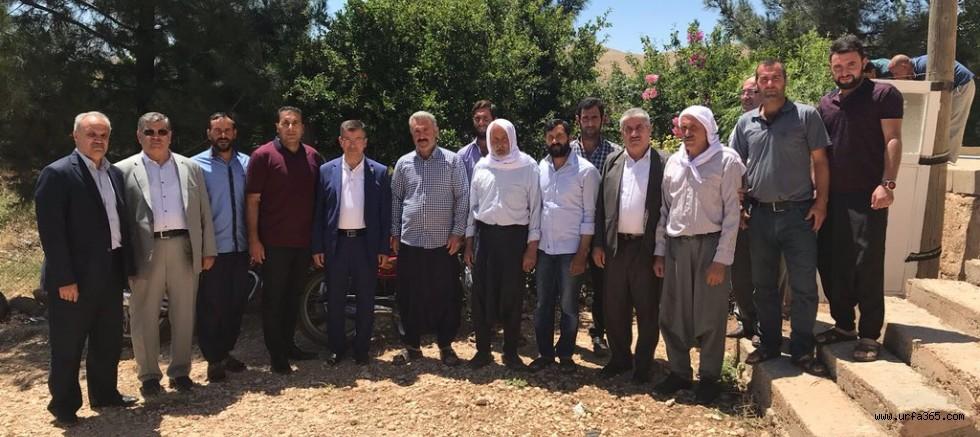 AK Vekil Cevheri Haliliye köylerinde