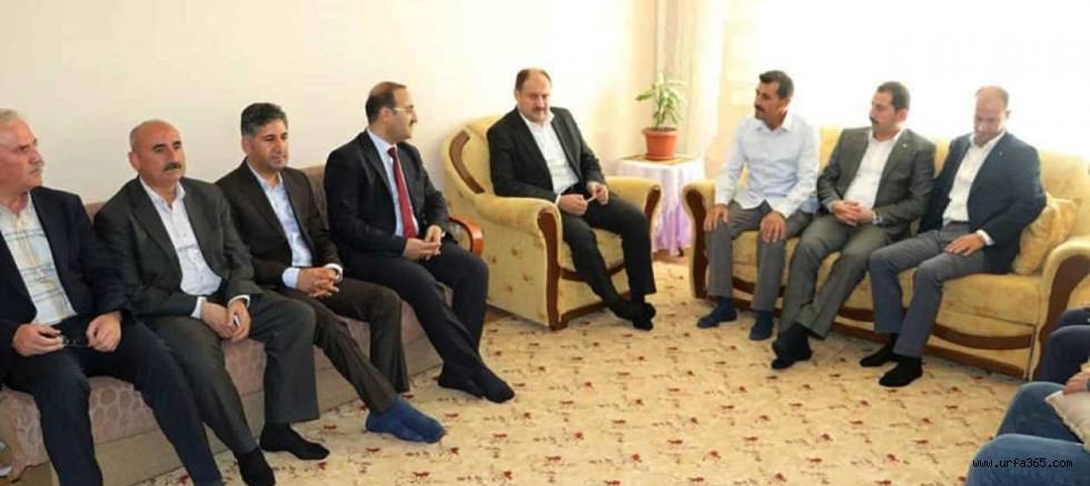 AK Vekil Gülpınar'dan Şehit Ailesine Ziyaret