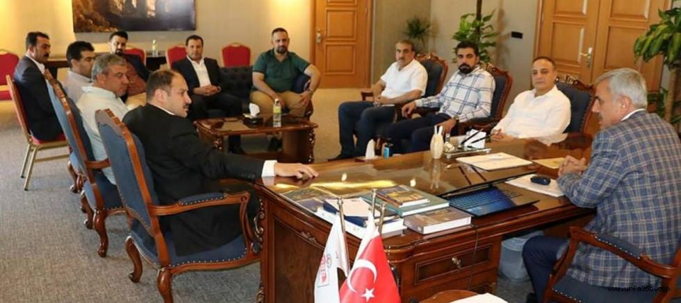 AK Vekil Gülpınar'dan TÜMSİAD ve ŞUTSO'ya Ziyaret