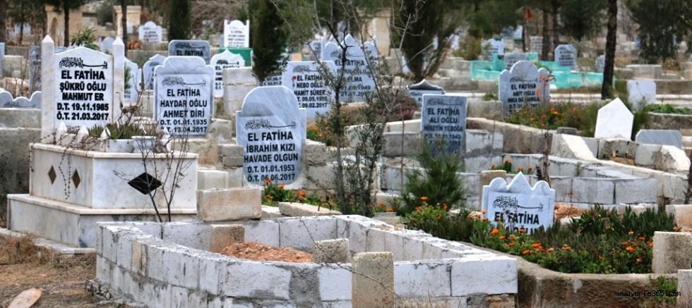 Akçakale Yeni Aile Mezarlığında Drenaj Çalışmaları Başladı