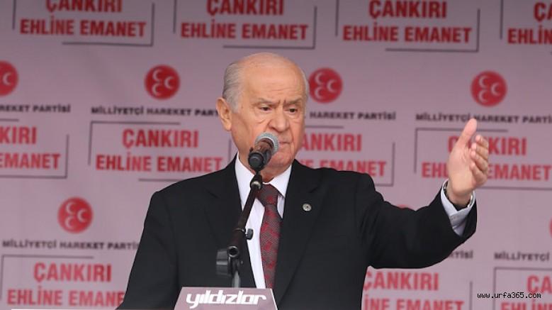 Bahçeli'den PKK'dan Oy İsteyen CHP'ye Sert Tepki!