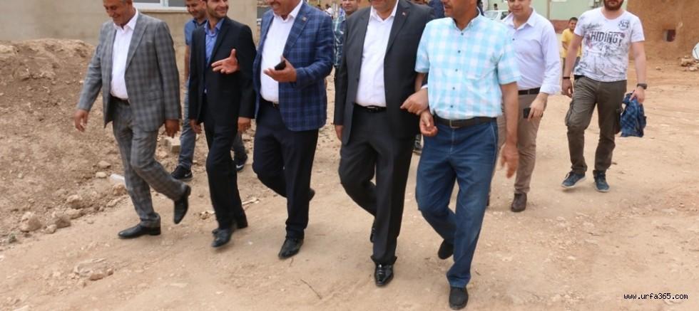 Başkan Ayhan Kırsalda Seçim Çalışmalarına Devam Ediyor
