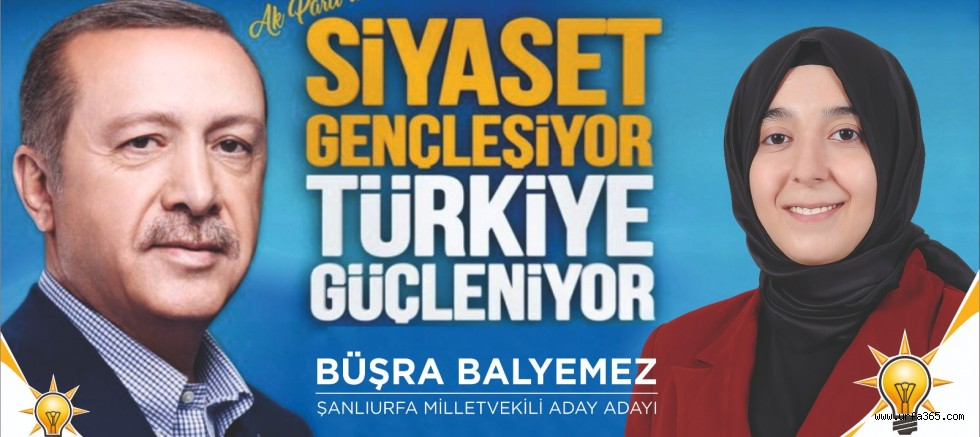 Büşra Balyemez AK Parti Aday Adaylığını Açıkladı
