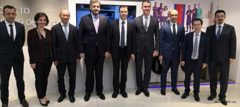 Büyükelçi Önen'den Çin'deki Türk Üretim Tesislerine Ziyaret