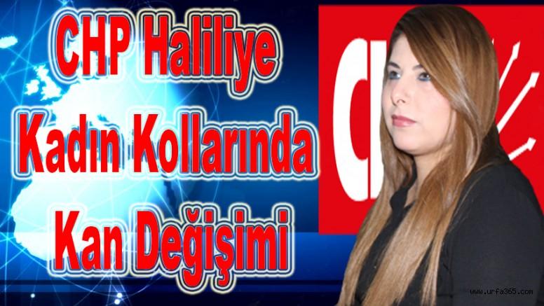 CHP Haliliye Kadın Kollarında Kan Değişimi