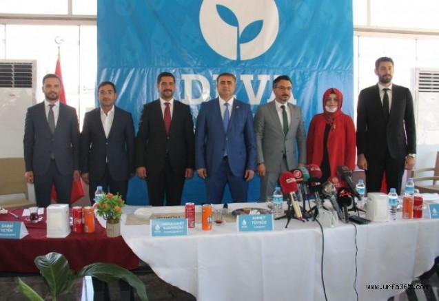 DEVA Partisi Şanlıurfa İl Kurucu Heyeti tnıtıldı