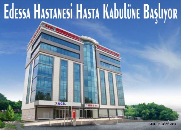 Edessa Hastanesi Hasta Kabulüne Başlıyor