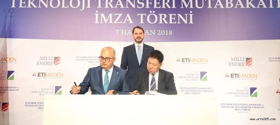"""Enerji Bakanı Berat Albayrak Çin'de; """"Türk-Çin Bor protokolü imzalandı"""""""