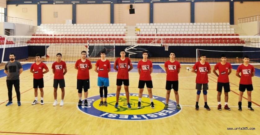 Harran Üniversitesinde milli takım için sporcular yetişiyor