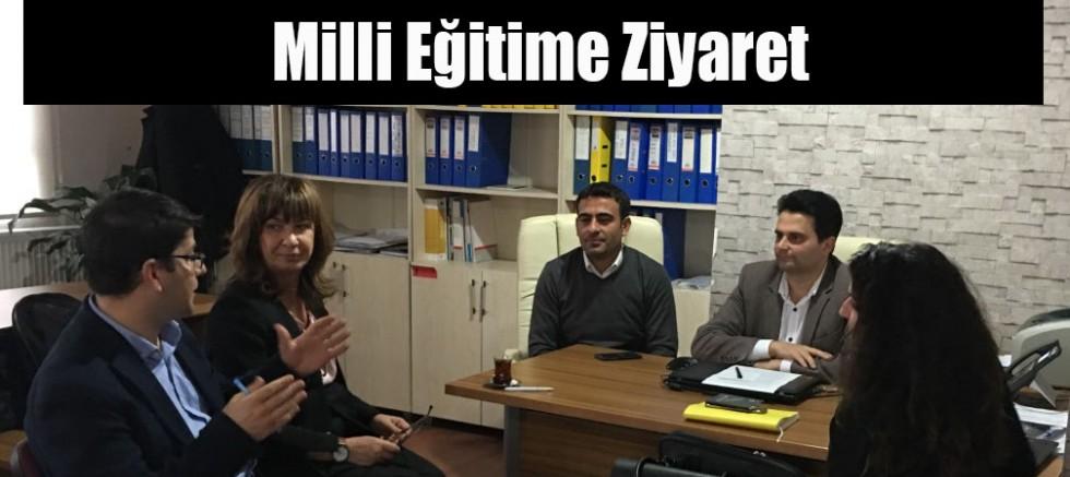 ILO Bosna Hersek Koordinatöründen Milli Eğitime Ziyaret