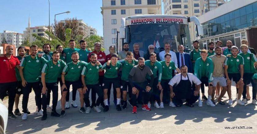 Karaköprü Belediyespor galibiyet için yola çıktı