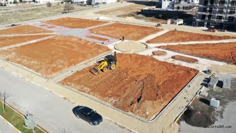 Karaköprü'de 6 bin metrekarelik yeni park yapılacak (EK)