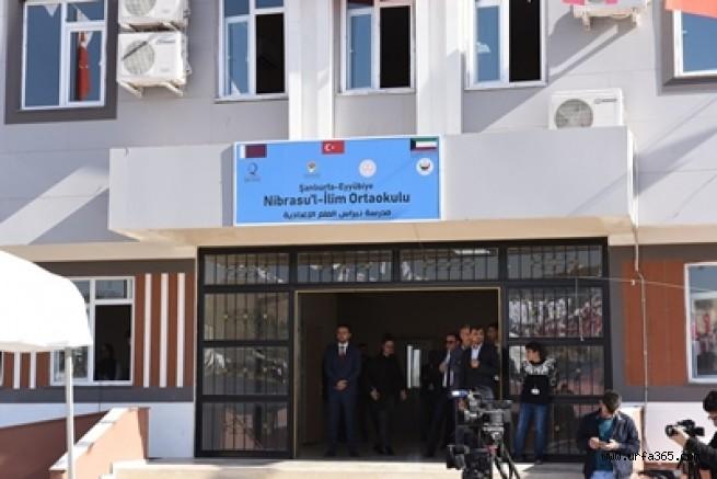Nibrasul İlim Ortaokulu Açıldı
