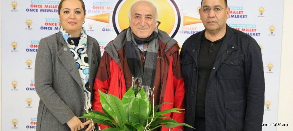 Prof. Dr. Mermut Ve Çakmaklı'dan AK SKM'ye Ziyaret