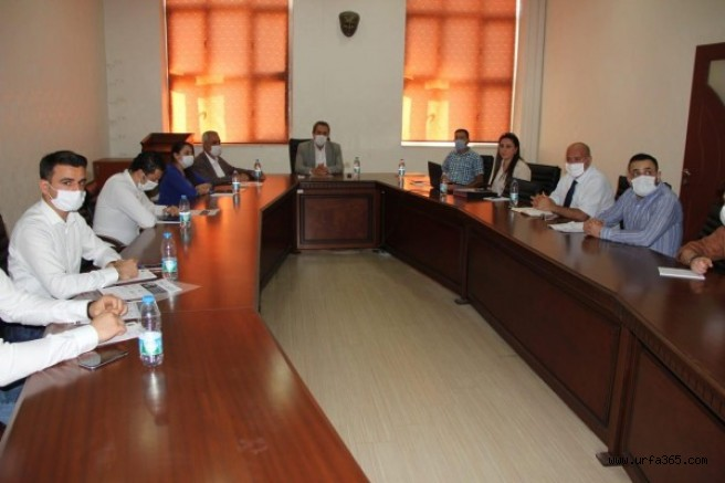 Şanlıurfa'da mesleki eğitim toplantısı yapıldı