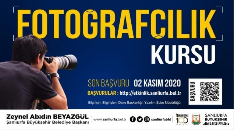 Şanlıurfa'da profesyonel fotoğrafçılık kursu açılıyor