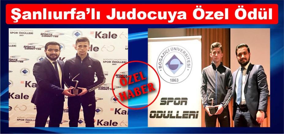 Şanlıurfa'lı Judocuya Özel Ödül