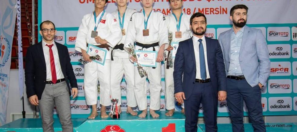 Şanlıurfalı Judocu Türkiye 3.sü Oldu