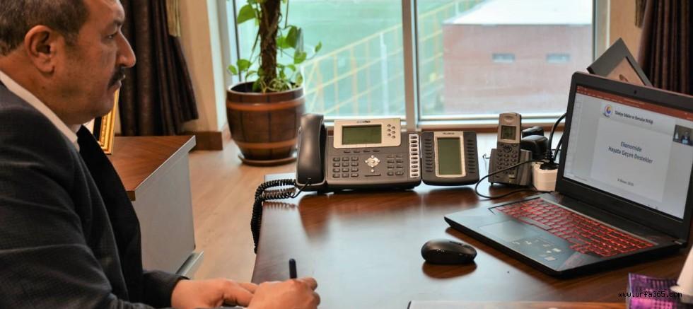 TOBB'dan Covid-19'a  karşı telekonferans çözümü