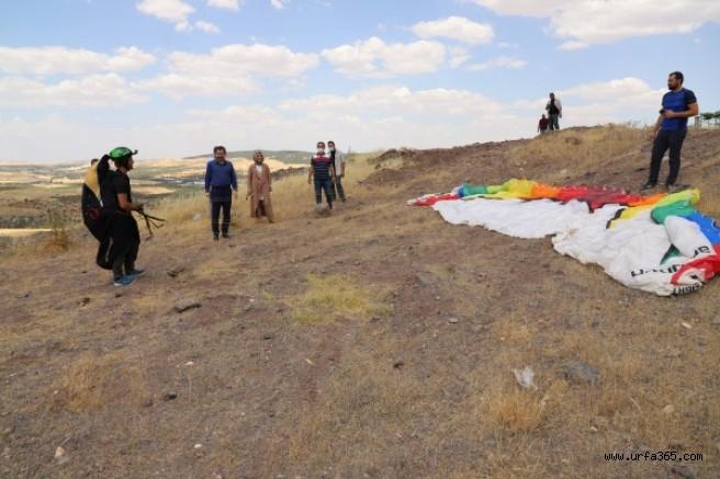 Urfa'nın ilçesinde yamaç paraşütü yapılaca