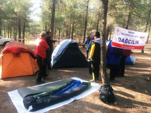 Urfadosk' tan Özel Kamp ve Yürüyüş Etkinliği