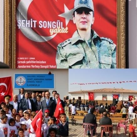 Yarbay Songül Yakut İlkokulu Törenle Açıldı
