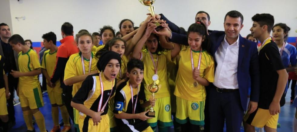 Yıldızlar Futsal Müsabakası Sona Erdi